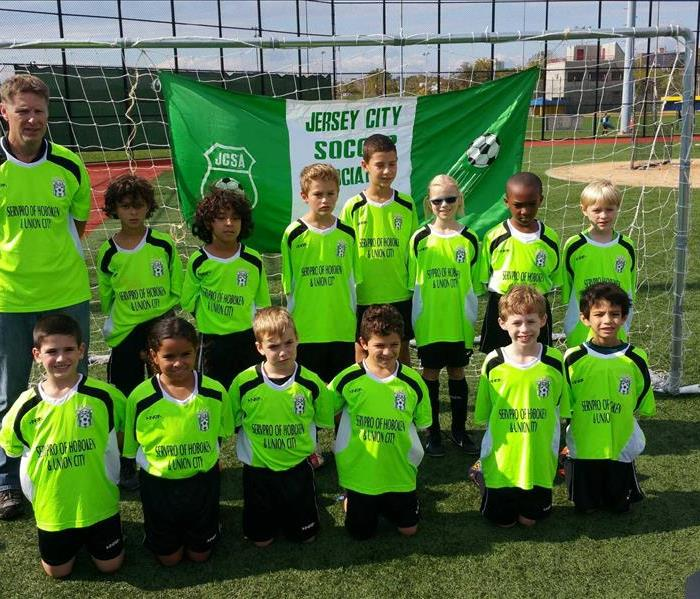 The SERVPRO of Hoboken/Union City Youth Soccer Team