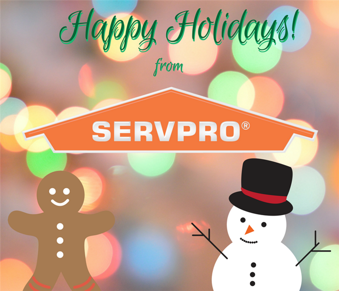 General Use SERVPRO this Holiday!
